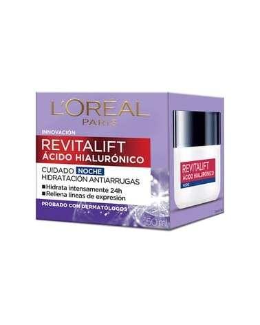 Crema Noche L'Oréal Paris Revitalift Acido Hialulronico X 50Ml L'Oréal - 1