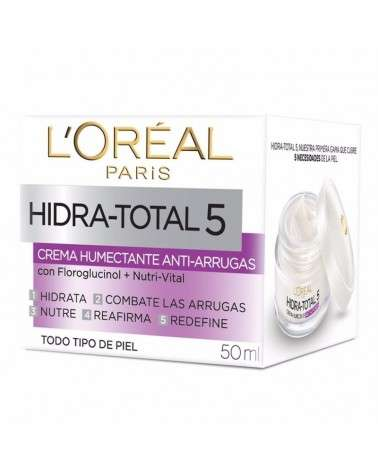 Crema anti arrugas L´Oréal Paris Hidra total 5 x 50ml L'Oréal - 1