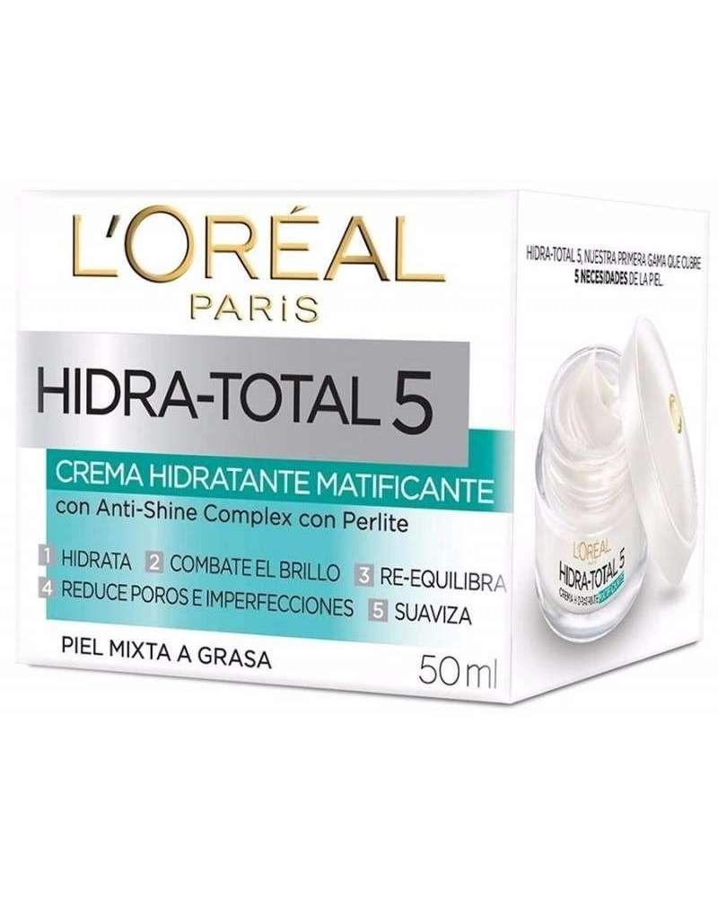 Crema Matificante L´Oréal Paris Hidra Total 5 X 50Ml L'Oréal - 1