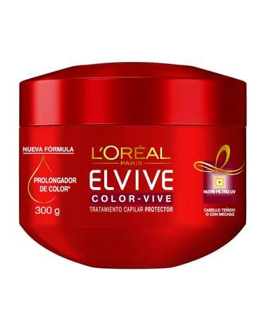Crema De Tratamiento Color Vive Elvive L´Oréal Paris 300G Elvive - 1