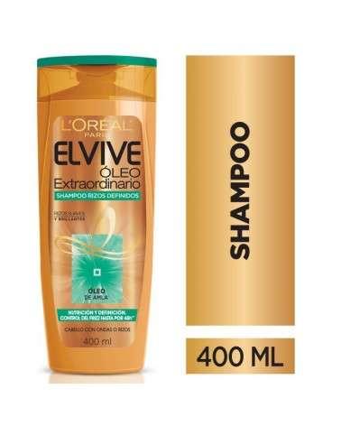 Shampoo Óleo Extraordinario Rizos Definidos Elvive L´Oréal Paris 400ml Elvive - 1