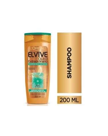 Shampoo Óleo Extraordinario Rizos Definidos Elvive L´Oréal Paris 200Ml Elvive - 1