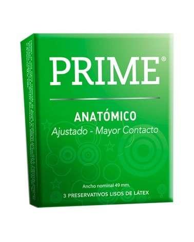 Prime - Preservativo Verde Anatom X 3Unid Prime - 1