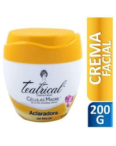 Teatrical Crema Facial Aclaradora 200 g Teatrical - 1