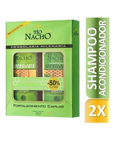 Tio Nacho PROMO  Shampoo + Acondicionador Herbolaria 415 ml Tio Nacho - 1