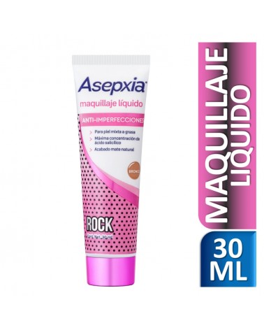 Asepxia Maquillaje Líquido Sexy Skin Bronce 30 ml Asepxia - 1