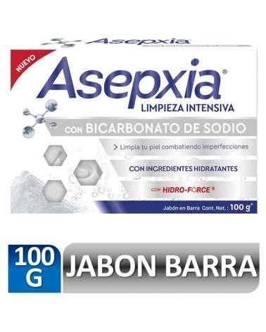 Asepxia Jabón Bicarbonato 100 gr Asepxia - 1