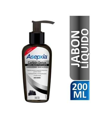 Asepxia Jabón Líquido Carbón Asepxia - 1