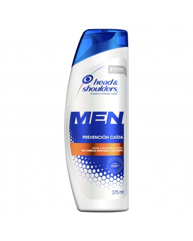Shampoo Head & Shoulders Prevención Caída 375 Ml Head & Shoulders - 1