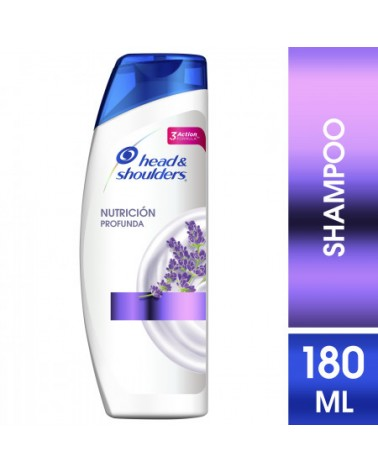 Shampoo Head & Shoulders Nutrición Profunda 180 Ml Head & Shoulders - 1