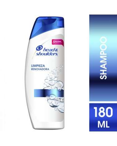 Shampoo Head & Shoulders Humectación 180 Ml Head & Shoulders - 1