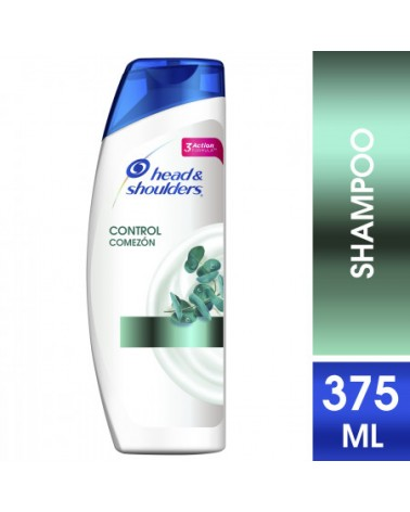 Shampoo Head & Shoulders Control Comezón 375 Ml Head & Shoulders - 1