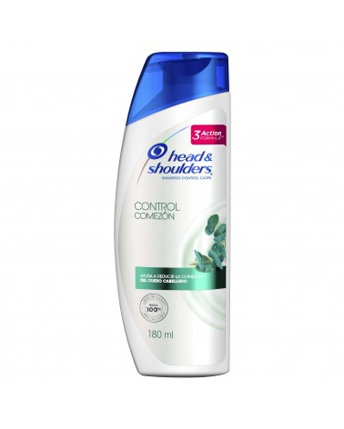 Shampoo Head & Shoulders Control Comezón 180 Ml Head & Shoulders - 1