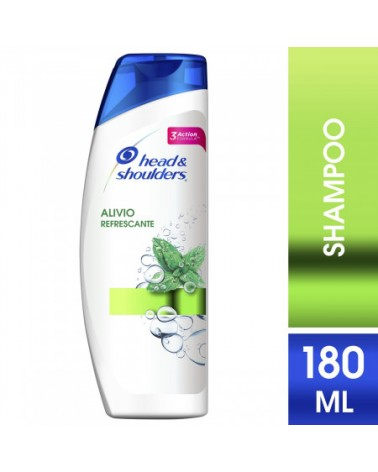 Shampoo Head & Shoulders Alivio Refrescante 180 Ml Head & Shoulders - 1