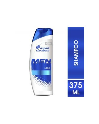 Shampoo Head & Shoulders 3En1 375 Ml Head & Shoulders - 1