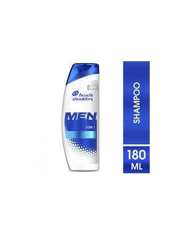Shampoo Head & Shoulders 3En1 180 Ml Head & Shoulders - 1