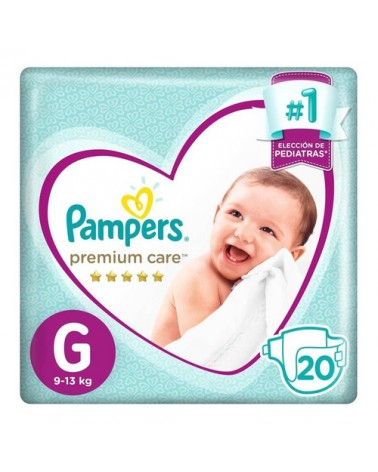 Pañales Pampers Premium Care G 20 Unidades Pampers - 1