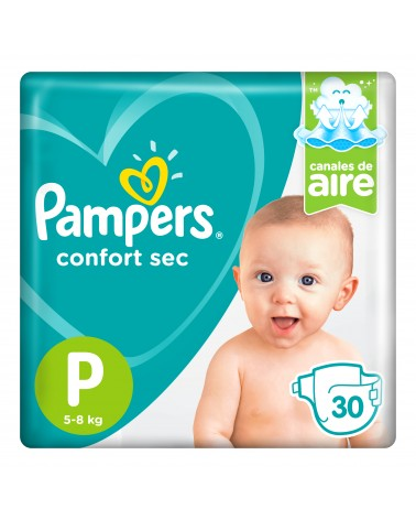 Pañales Pampers Confort Sec P 30 Unidades Pampers - 1