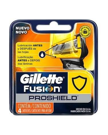 Cartuchos Para Afeitar Gillette Fusion5 Proshield 4 Unidades Gillette - 1