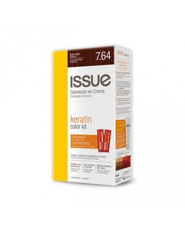 Issue - Kit Keratine Tintura 764 Rubio Rojizo Cobrizo ISSUE - 1