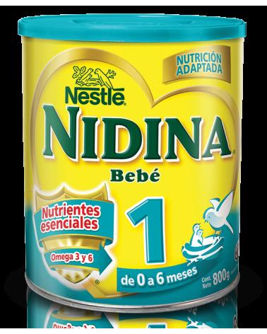 NIDINA 1 Formula Infantil 6x800g N1 XI Nestle - 1