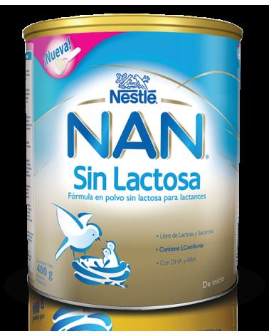 NAN SIN LACTOSA 400 GRS LATA Nestle - 1