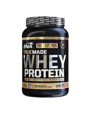 WHEY PROTEIN TRUE MADE STRAWBERRY MILKSHAKE ISOLATE + CONCENTRATE ENA - 1