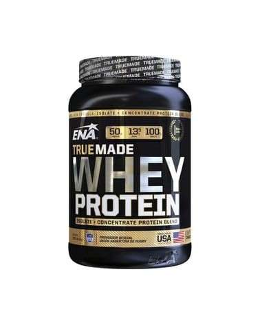 WHEY PROTEIN TRUE MADE DOUBLE RICH CHOCOLATE ISOLATE + CONCENTRATE ENA - 1