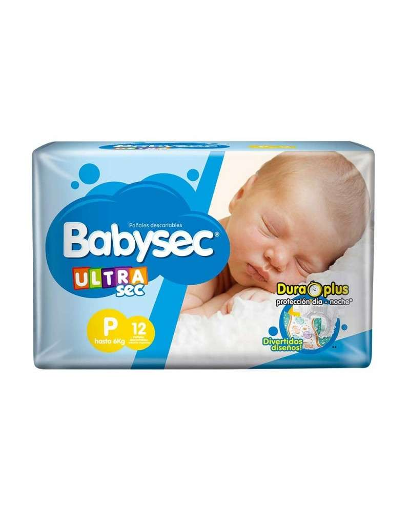 Baby Sec Ultra Sec Peque X12 Babysec - 1