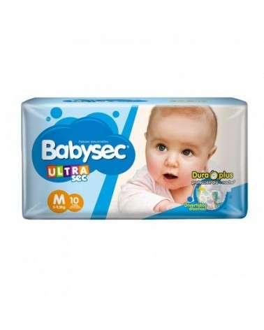 Baby Sec Ultra Sec Med X 10 Babysec - 1