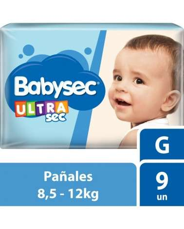 Baby Sec Ultra Sec X9 Gde Babysec - 1