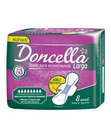 Doncella Toallitas Incontinencia Larga 8 Un Doncella - 1