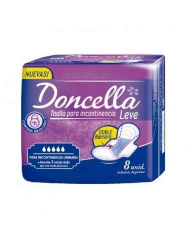 Doncella - Toallitas Incontinencia Leve X8 Doncella - 1