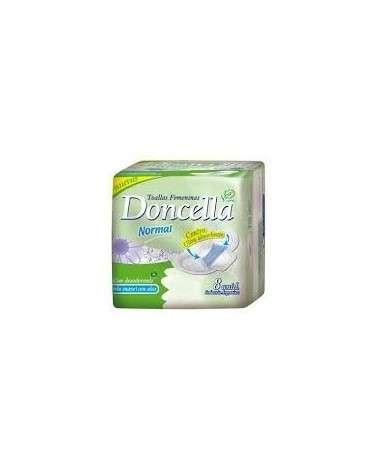 Doncella - Toallitas Femeninas Pocket Con Alas Con Desodorante X 8 Doncella - 1