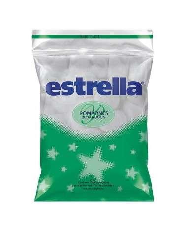 ESTRELLA - POMPONES ALGODON X 50UNID Estrella - 1