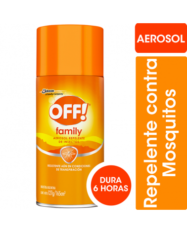 Off - Family Active Aerosol 165 Ml OFF - 1