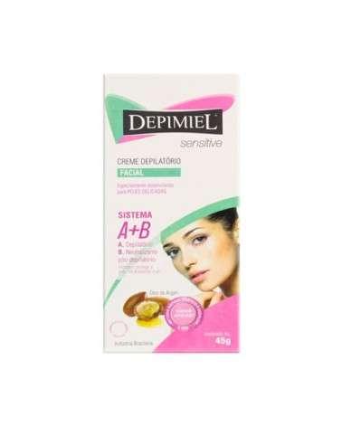 Depimiel - Crema Depilatoria Para El Rostro (A+B) Sensitive Depimiel - 1