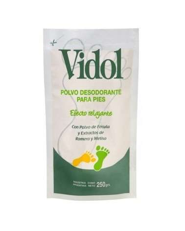 VIDOL - PVO DESODORANTE PARA PIES X 250 EFECT RELAJANTE VIDOL - 1