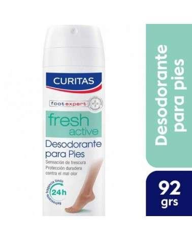 CURITAS DESODORANTE PARA PIES - spray efecto refrescante CURITAS - 1