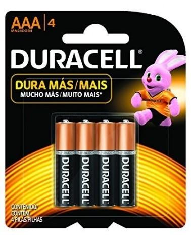 DURACELL - PILA AAA X 4 DURACELL - 1