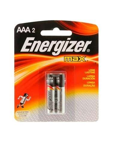 ENERGIZER MAX - PILA AAA BLISTER X 2 922637 ENERGIZER - 1