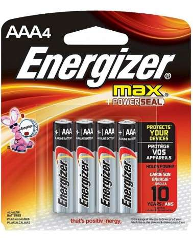ENERGIZER MAX - PILAS AAA4 X4 ENERGIZER - 1