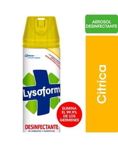 LYSOFORM - DESODORANTE AEROSOL CITRICA x 360 LYSOFORM - 1