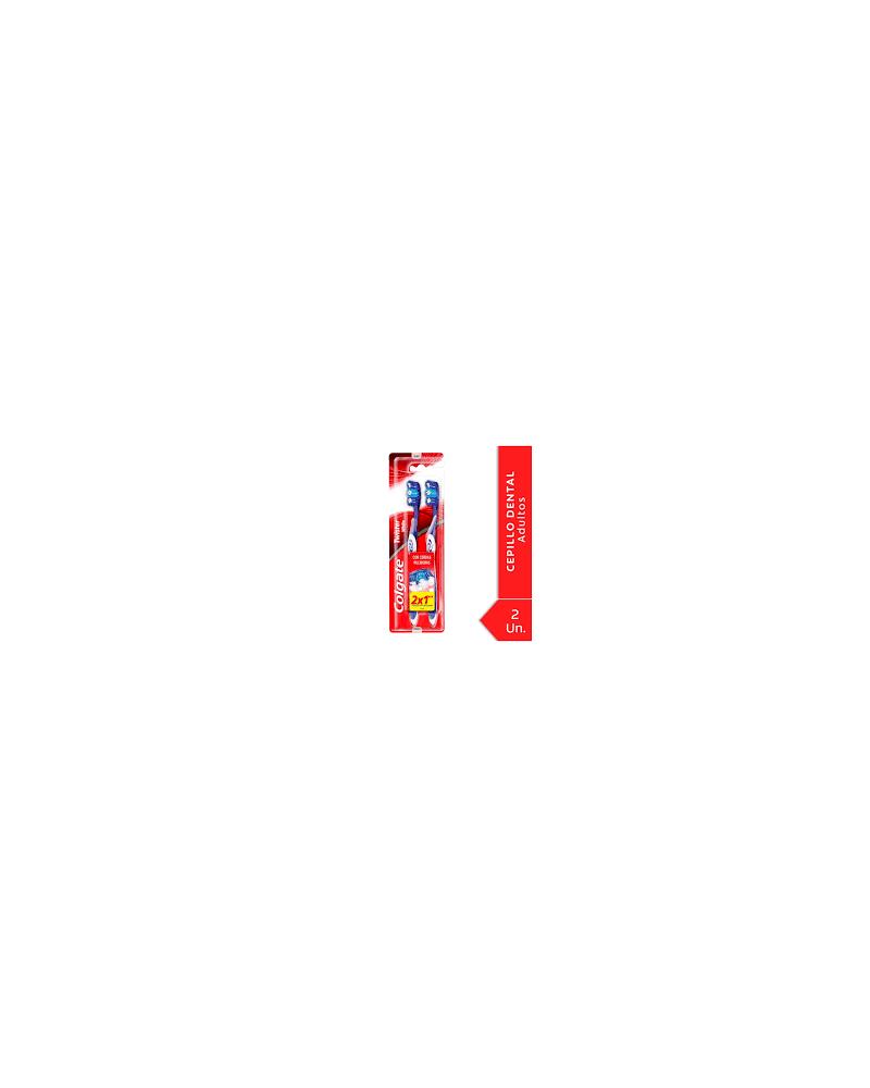 Cepillo Dental Colgate Twister Cabeza Compacta 2X1 Colgate - 1