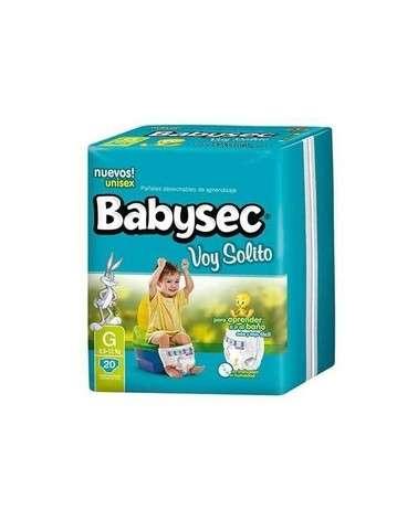 **BABYSEC VOY SOLITO G  X 20 Babysec - 1