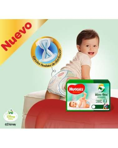 Pañales Huggies Active Sec G Regular X8 Huggies - 2
