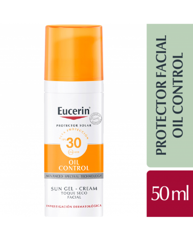 Eucerin Sun Gelcrema Facial Toque Seco Spf30 Eucerin - 1