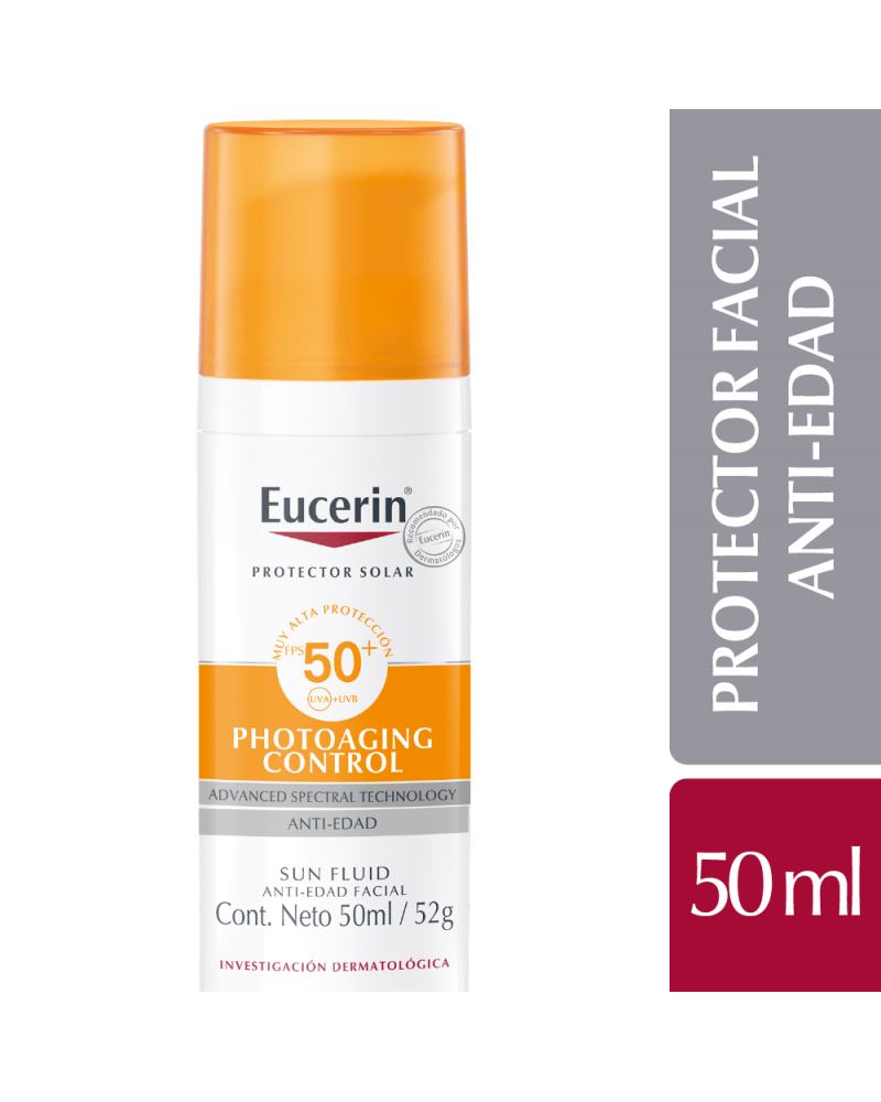 Eucerin Sun Fluido Antiedad Fps 50 Eucerin - 1