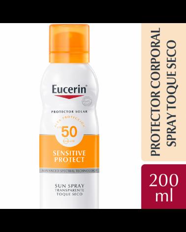 Eucerin Sun Body Spray Toque Seco FPS 50 200ml Eucerin - 1