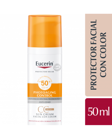 Eucerin Sun CC Cream FPS 50+ Eucerin - 1